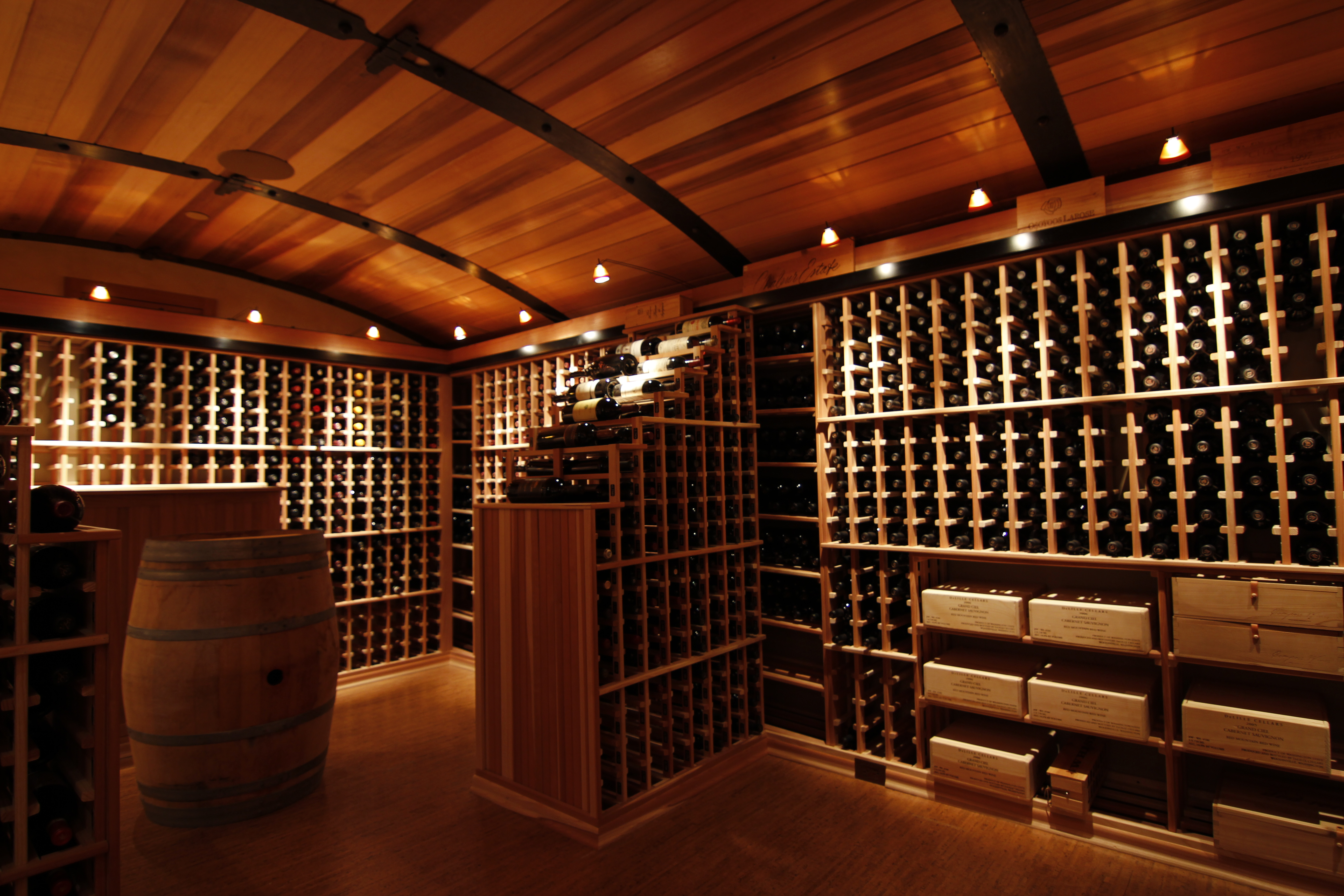 The preferred supplier of custom wine cellars saunas Home wine cellar design