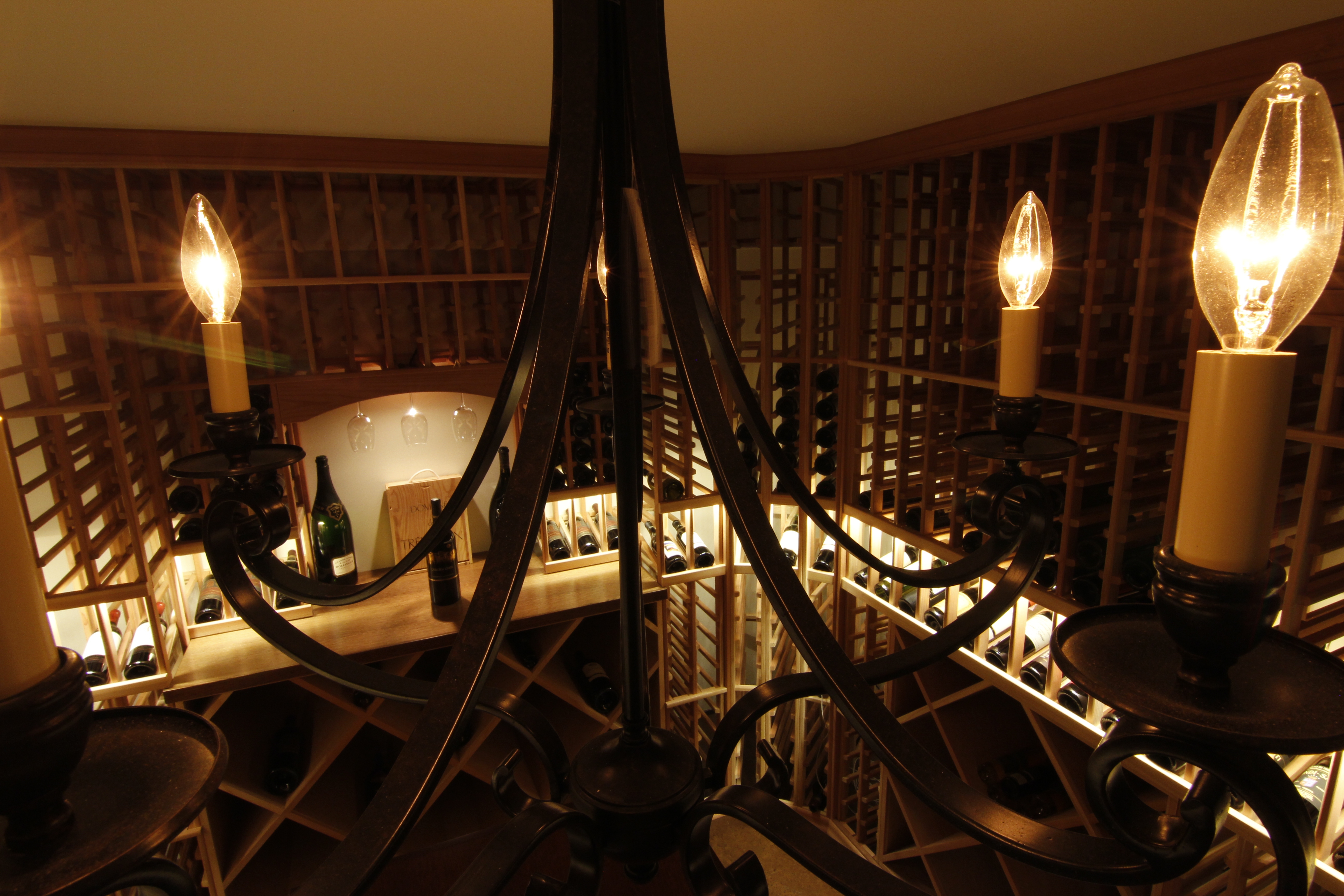 The preferred supplier of custom wine cellars saunas inviniti a view from above arubaitofo Choice Image