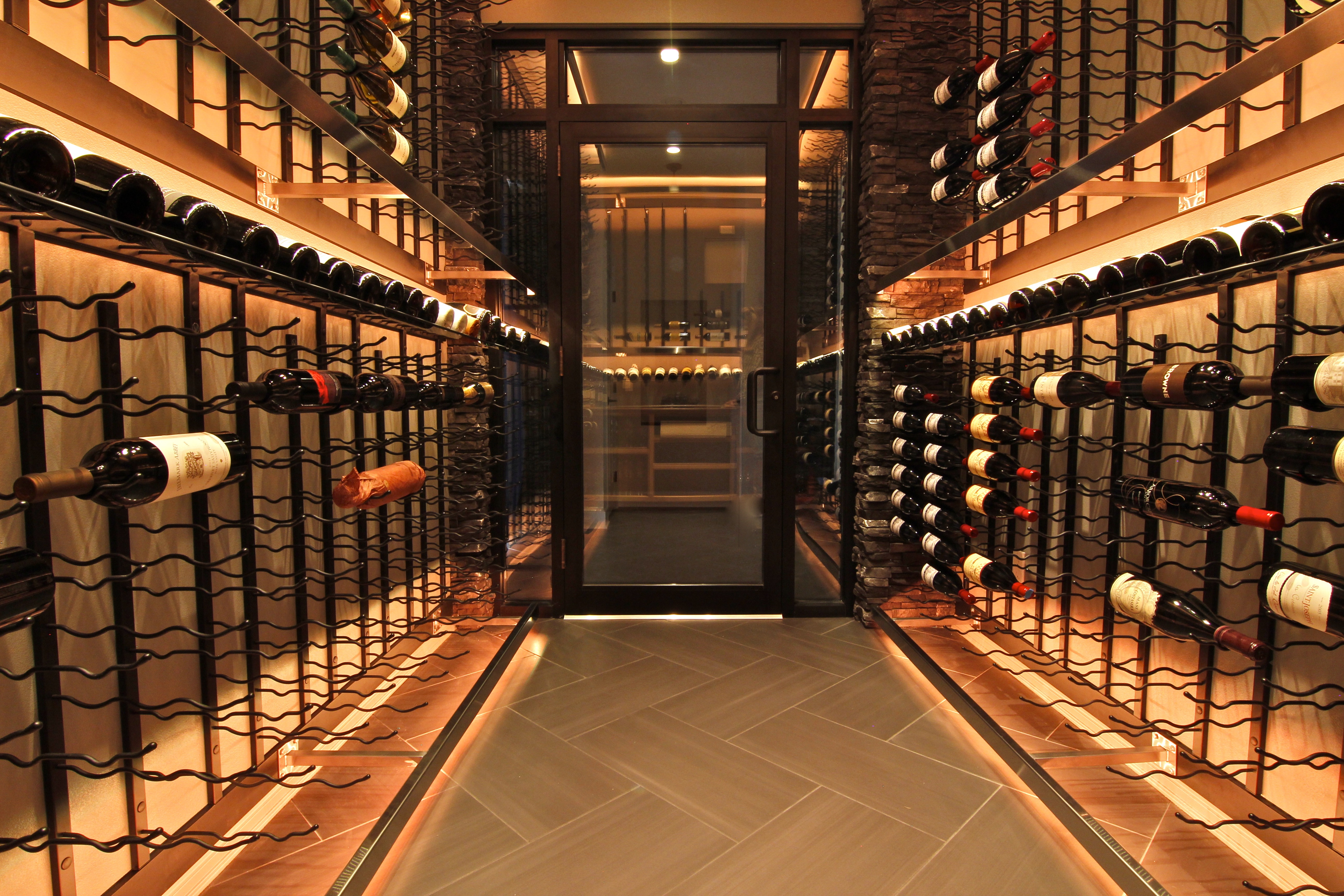 wine cellar lighting. Wine Cellar Lighting. Stailess Steel Light Bars Lighting James River Construction, Richmond VA